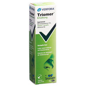 Triomer Erkältung by Sinomarin Pocket Spray (30ml)