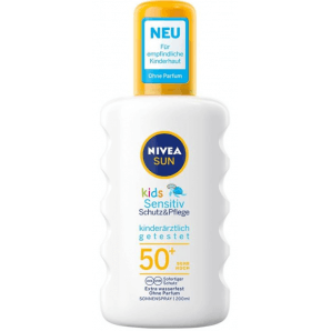 Nivea Sun Kids Sensitiv Sonnenspray LSF 50+ (200 ml)