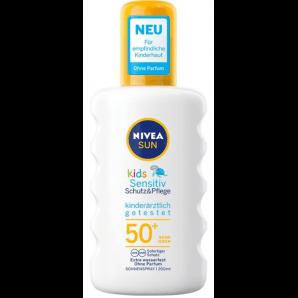 Nivea Sun Kids Sensitive Sun Spray SPF 50+ (200 ml)