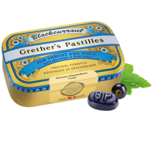 Grether's Blackcurrant Pastilles (110g)