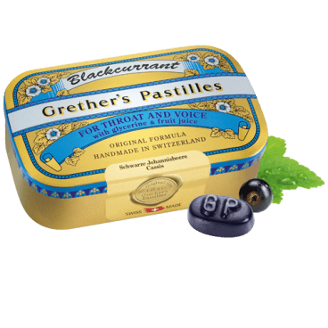 Grether's Pastilles Blackcurrant (110g)