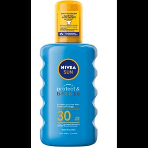 Nivea Sun Protect & Bronze Sonnenspray LSF 30 (200ml)