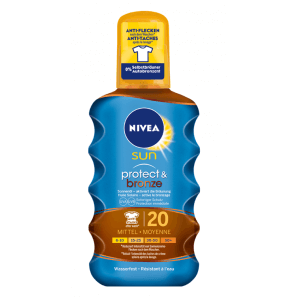 Nivea Sun Protect & Bronze Sun Oil SPF 20 (200ml)