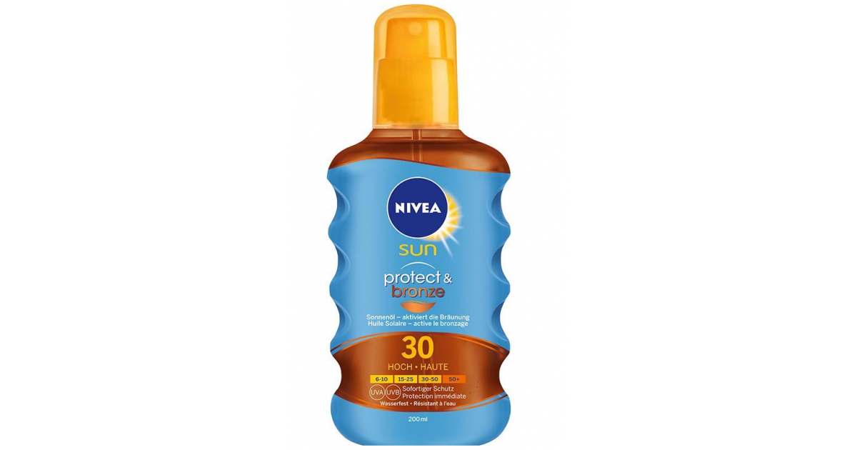 Nivea Sun Protect & Bronze Sun Oil SPF 30 (200ml)