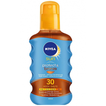 Nivea Sun Sonnenöl Protect & Bronze LSF 30 Spray (200ml)