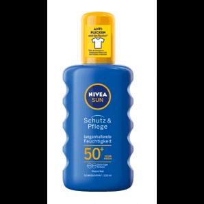 Nivea Sun Protect & Moisture spray solaire nourrissant SPF 50+ (200ml)