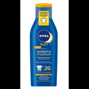 Nivea Sun Protect & Moisture Sonnenmilch LSF 20 (250ml)