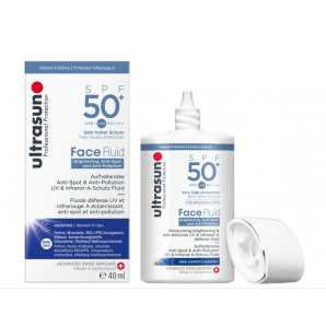 Ultrasun Face Fluid Brightening & Anti Pollution SPF50 + (40ml)