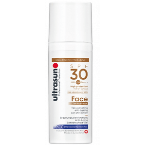 Ultrasun Face Tan Activator SPF 30 (50ml)