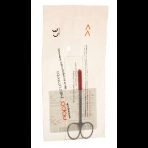 Nopa Iris scissors straight 10.5cm sp / sp (1 pc)