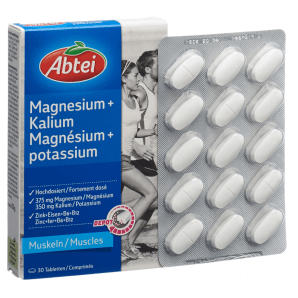 Abtei Magnesium + Kalium Depot (30 Stk)