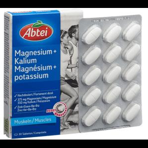 Abtei Magnesium + Potassium Depot (30 pcs)