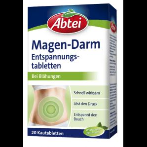 Abtei Magen-Darm Entspannungstabletten (20 Stk)
