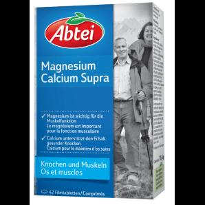 Abtei Magnesium Calcium Supra (42 Stk)