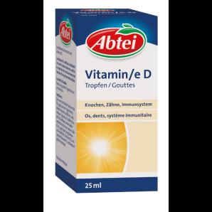 Abtei Gouttes de vitamine D (25 ml)