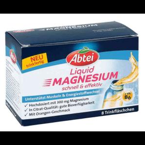 Abtei Magnesium Liquid (8 pcs x 30 ml)