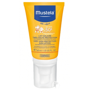 Mustela Sun Protection Sun Milk SPF50 + (40ml)