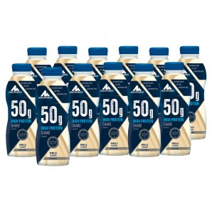 Multipower 50g High Protein Shake Vanilla (12x500ml)