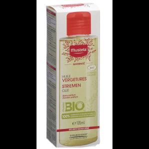 Mustela Mutter Schwangerschaft Streifen Öl Bio (105ml)