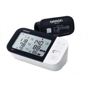 OMRON upper arm blood pressure monitor M7 Intelli IT