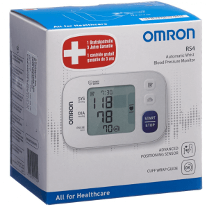OMRON blood pressure monitor wrist RS4
