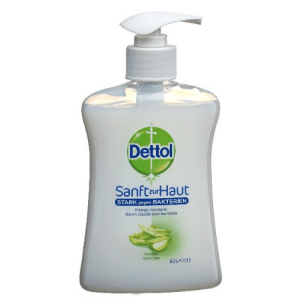 Dettol Aloe Vera Pump-Seife (250ml)