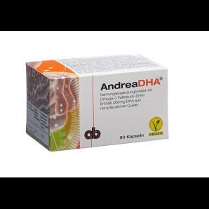 Andreabal AndreaDHA Omega-3 Kapseln (60 Stk)