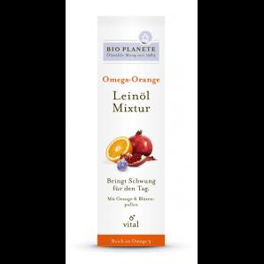 Bio Planète Omega Orange Leinöl Mixtur (100ml)