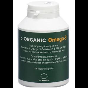 Biorganic Omega-3 Kapseln (100 Stk)
