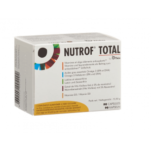 NUTROF Total Vitamins Trace Elements Omega 3 capsules (90 pcs)