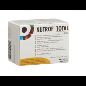 Nutrof Total Vitamine Spurenelemente Omega 3 Kapseln (90 Stk)