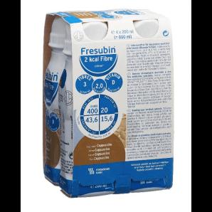 FRESUBIN 2 kcal Fiber DRINK cappuccino (4x200ml)