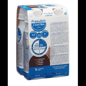 FRESUBIN 2 kcal fibre DRINK chocolat (4x200ml)