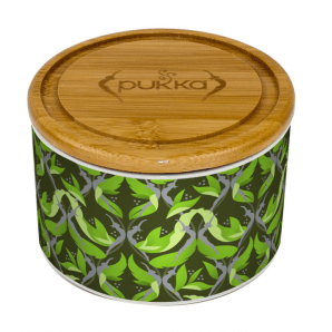 Pukka ceramic jar matcha green