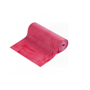 Theraband Bande d'exercice rouge (5,50 m, moyen)