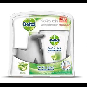 Dettol distributeur de savon sans contact avec recharge d'aloe vera (250 ml)