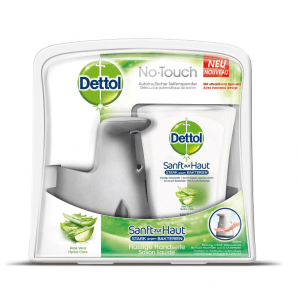 Dettol No-Touch Soap Dispenser incl. Refill Aloe Vera (250ml)
