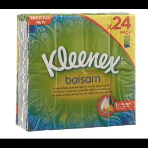 Kleenex Balsam Taschentücher (24 x 9 Stk)