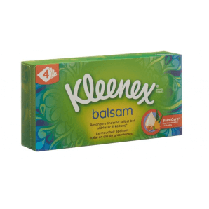 Kleenex Balsam Taschentücher Box (60 Stk)