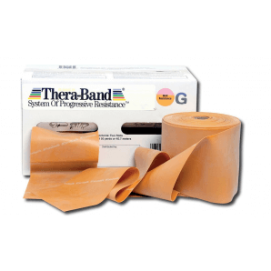 TheraBand rouleau doré (45,5 mx 12,7 cm, extra fort)