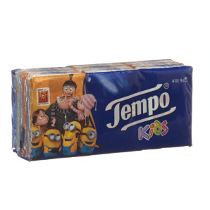 Tempo Mini Pack handkerchiefs (9 x 5 pieces)