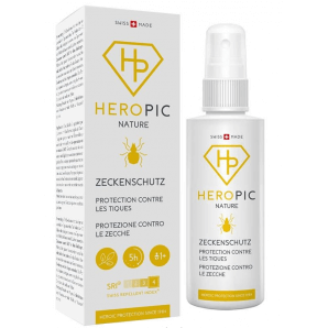 Heropic Nature Tick Protection Spray (100ml)