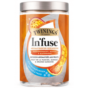 Twinings Infuse Passionsfrucht, Mango & Blutorange (12 Beutel)