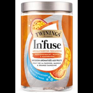 Twinings Infuse Fruit de la passion, mangue et orange sanguine (12 sachets)