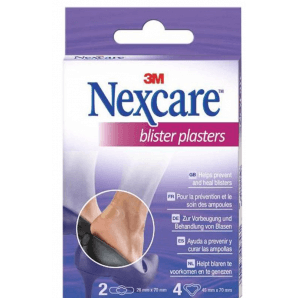 3M Nexcare blister plasters assorted (6 pcs)