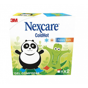 3M Nexcare ColdHot 12x11cm Happy Kids (2 pieces)