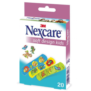3M Nexcare plaster Soft Kids Design plaster (20 pieces)