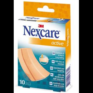 3M Nexcare Patch Active Bands 6 x 10cm (10 pieces)