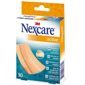 3M Nexcare Pflaster Active Bands 6 x 10cm (10 Stk)