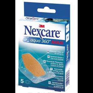 3M Nexcare Pansements Aqua 360 ° Maxi (5 pièces)